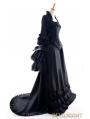 Black Victorian Fantasy Gown