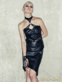 Black Sexy Gothic Punk Skeleton Dress