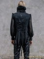 Black Gorgeous Gothic Blouse for Men