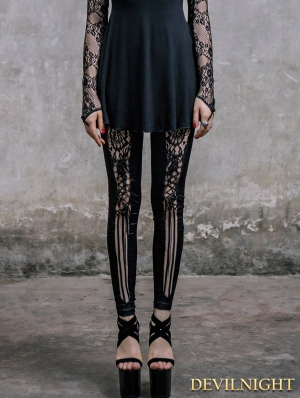 Fashion Gothic Punk Legging for Women