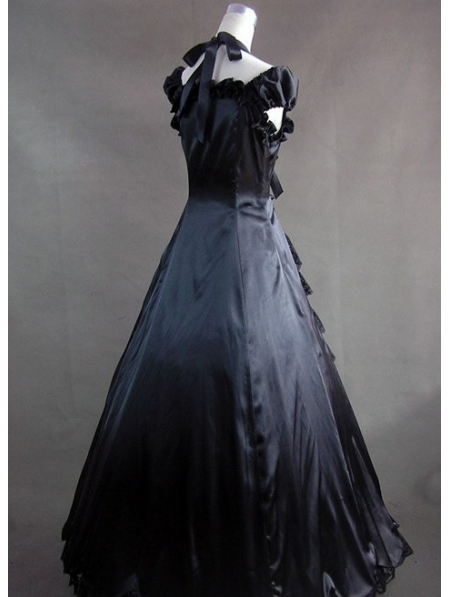 Victorian black dress uk