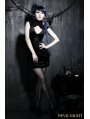 Black Gothic Sexy Chinese Style Dress