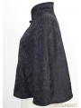 Black Pattern Gothic Shawl for Women