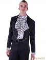 Black Gothic Swallow Tail Jacket for Men