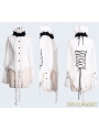 Romantic Long Sleeves Chiffon Gothic Blouse for Women