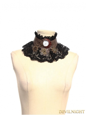 Steampunk Clock Choker