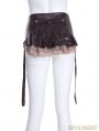 Steampunk Lace Skirt with Detatchable Belt