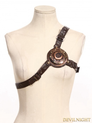 Brown Steampunk Shoulder Strap/Belt