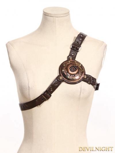Brown Steampunk Shoulder Strap/Belt