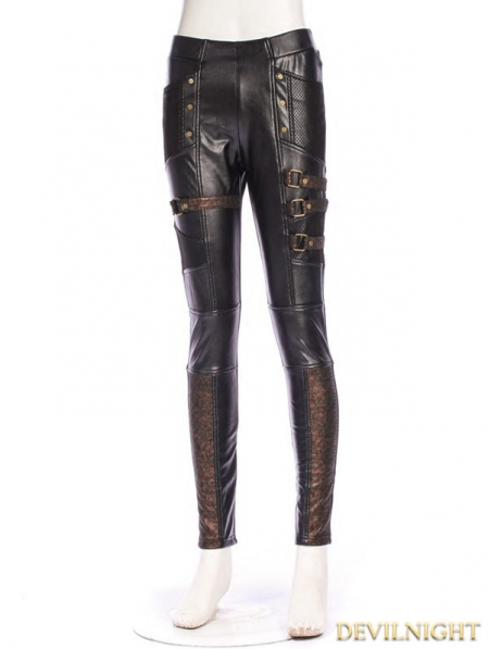 Steampunk Thick Pile Pants For Women Devilnight Co Uk