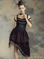 Irregular Belt Steampunk Dress