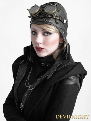 Steampunk Pilot Hat