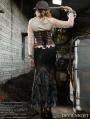 Steampunk Fishtail Long Skirt