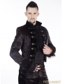 Black Gothic Tuxode Jacket for Men