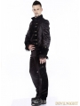 Black Gothic Tuxode Jacket for Men