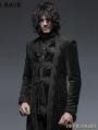 Black Gorgeous Vintage Style Gothic Long Coat for Men