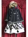 Sailor School Style Lolita Short Cloak
