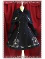 Printed Pattern Sweet Rococo Lolita Cape Coat