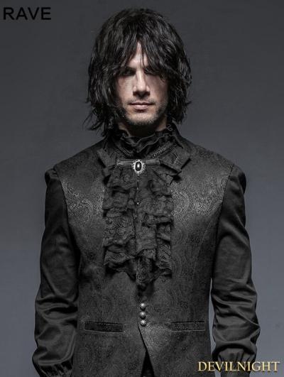 Black Gothic Necktie
