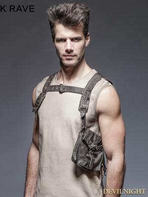 Steampunk Single Pocket Vest