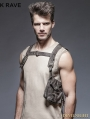 Steampunk Single Pocket Vest