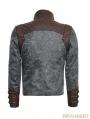 Steampunk Short Jacket for Men