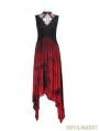Gothic Bandhnu dress with Collar