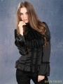 Black Victorian Style Gothic Blouse for Women