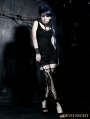 Black Gothic Short Shorts for Women