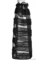 Black Gothic Multi-Level Skirt