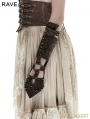 Coffee Handsome Cross Spike Steampunk Gloves
