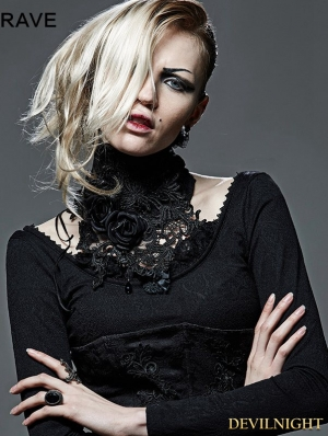 Gothic Palace Asymmetric Collar