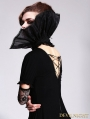 Black Gothic Queen Style Collar for Women