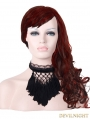 Black Tassels Gothic Necklace for Women