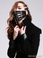 Black Skull Pendant Gothic Punk Mask