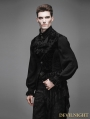 Devil Fashion Black Swallow Tail Gothic Waistcoat for Men