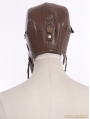 Brown Steampunk Vintage Military Cap