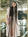 Vintage Medieval Two Piece Set Dress