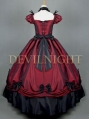 Red Princess Gothic Victorian Dress