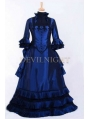 Blue Victorian Fantasy Gown