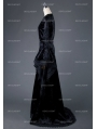 Black Gothic Vampire Medieval Dress