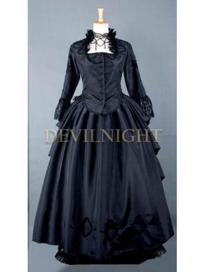 Black Gothic Victorian Gown