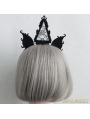Black Gothic Triangle Lace Holloween Headdress