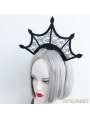 Black Gothic Lace Dark Queen Holloween Headdress