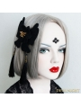 Black Gothic Tassel Cosplay Party Headdress