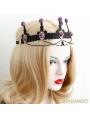 Black Gothic Rose Palace Crown Headdress