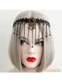 Black Gothic Vintage Tassel Headdress