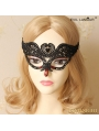 Black Gothic Lace Holloween Party Veil