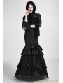 Black and Red Gothic Detachable Two-Wear Gothic Skirt