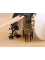 Black Gothic Vintage Lace Holloween Party Necklace